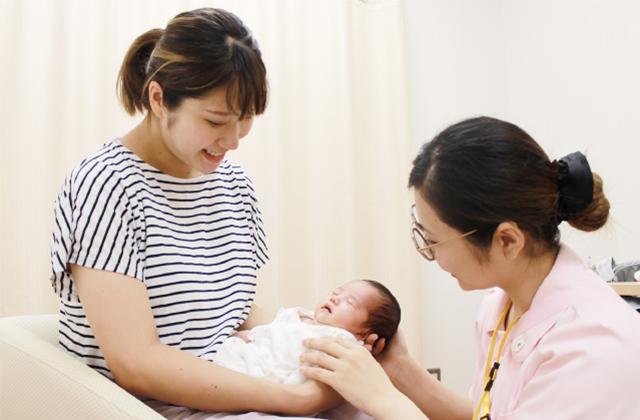 お産後の外来 - バースセンター1階(外来)