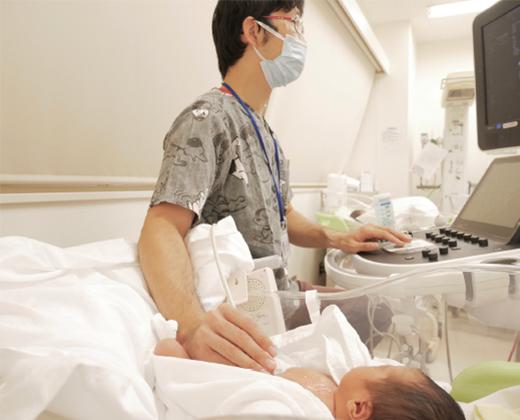 小児科医師のサポート02